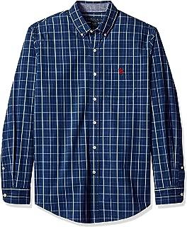 Men's Long Sleeve Classic Fit Sport Shirt