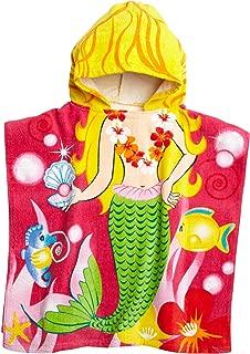 Northpoint Mermaid Kids Hooded Beach Towel