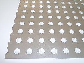 perforation ronde /Ø 8/mm d/écal/é RV 8 B/&T T/ôle perfor/ée m/étal aluminium 2,0/mm d/épaisseur 12