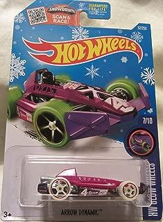 Hot Wheels 2016 HW Glow Wheels Arrow Dynamic 52/250 Snowflakes Exclusive