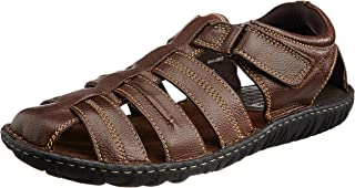 Hush Puppies Men's Leather Athletic & Outdoor Sandals
