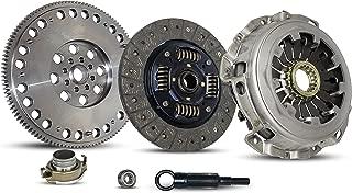 Clutch And Flywheel Kit Works With Subaru Impreza Baja Forester 9-2X Turbo Xt Aero WRX Crew Cab Limited Wagon Sedan 2.0L 2.5L H4 GAS DOHC Turbocharged