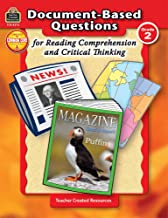 Document-Based Questions for Reading Comprehension and Critical Thinking: Grade 2