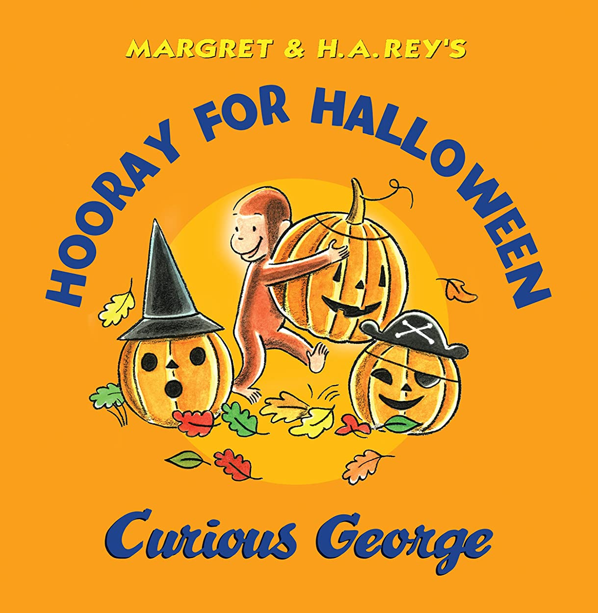 成長する店員沈黙Hooray for Halloween, Curious George (English Edition)