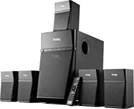 Frisby Home Theater 5.1 Surround Sound System with Subwoofer, Bluetooth Wireless..