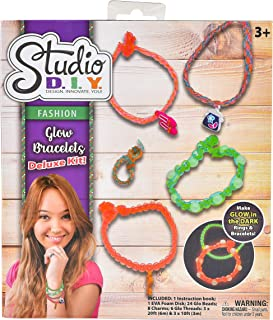 Sunny Days Entertainment Deluxe Bracelet Making Kit - DIY Rainbow Rubber Bands Jewelry for Girls | Includes Glowing Charm ...