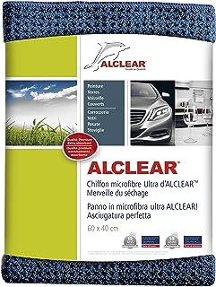 ALCLEAR 820901 miracle sec en microfibre pour l'entretien de la voiture, la peinture automobile, la moto, la cuisine et l'...