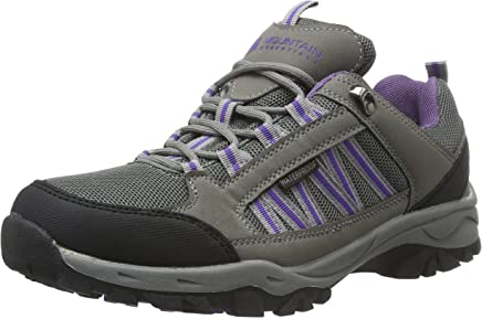 Mountain Warehouse Path Waterproof Womens Walking Shoes - Breathable Ladies Shoes, Mesh Lining, High Traction Sole Hiking Shoes - for Everyday Use