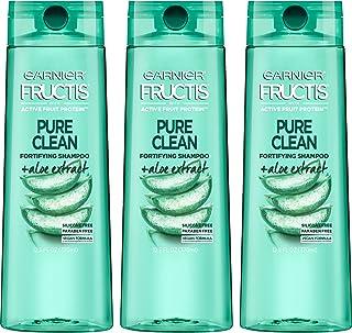 شامپو تمیز و پاک کننده مو ، گارنیر Fructis خالص ، 12.5 مایعات مایعات ، 3 تعداد