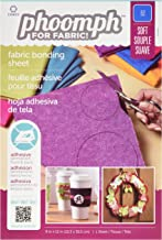 1 Per Package Fuchsia Coats: Thread /& Zippers Phoomph For Fabric Stiff Fabric Bonding Sheet 9 by 12-Inch