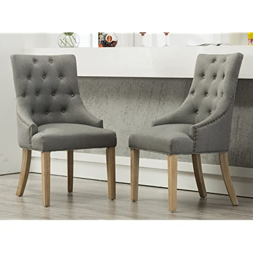 Incredible Wingback Dining Chair Amazon Com Short Links Chair Design For Home Short Linksinfo