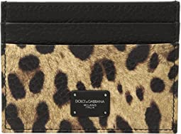 Dolce & Gabbana - Leopard Card Holder