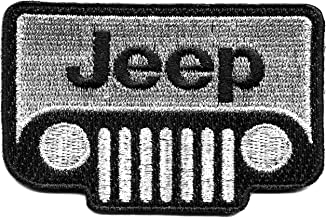SUV Off Roading 4 Wheel Drive Embroidered Iron-On Patch 4WD Truck