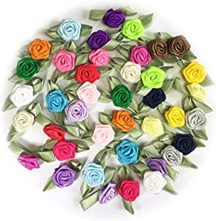 Best mini satin ribbon flowers Reviews