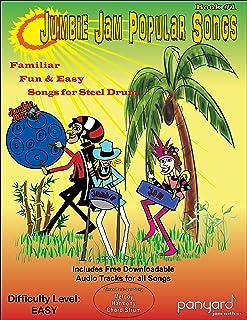 Panyard JJ5505 Jumbie Jam Popular Songbook 1 for Steel Pan Book with CD