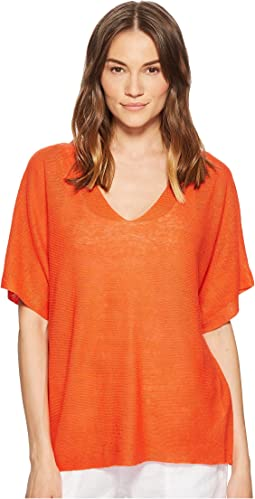 Eileen Fisher - Deep V-Neck Top