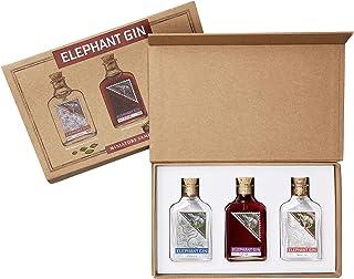Elephant Gin Tasting Set London Dry Gin 0,05ml 45% Vol  German Sloe Gin 0,05ml 35% Vol  Elephant Strength 0,05ml 57% Vol Miniaturen- Enthält Sulfite
