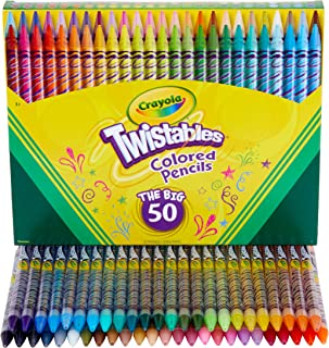 Crayola Twistables Colored Pencil Set, Kids Indoor...