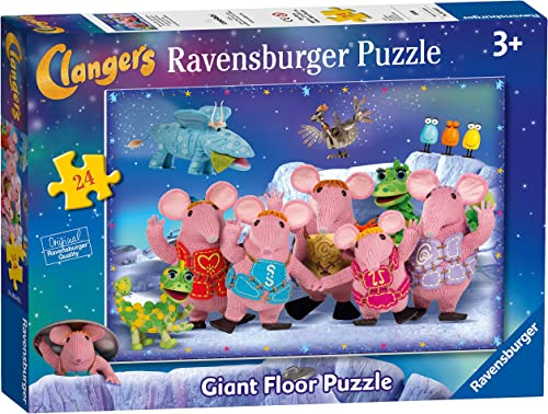 Ravensburger The Clangers, 24-Giant Floor Puzzle