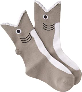 K. Bell Socks Kids' Big Novelty Wide Mouth Crew
