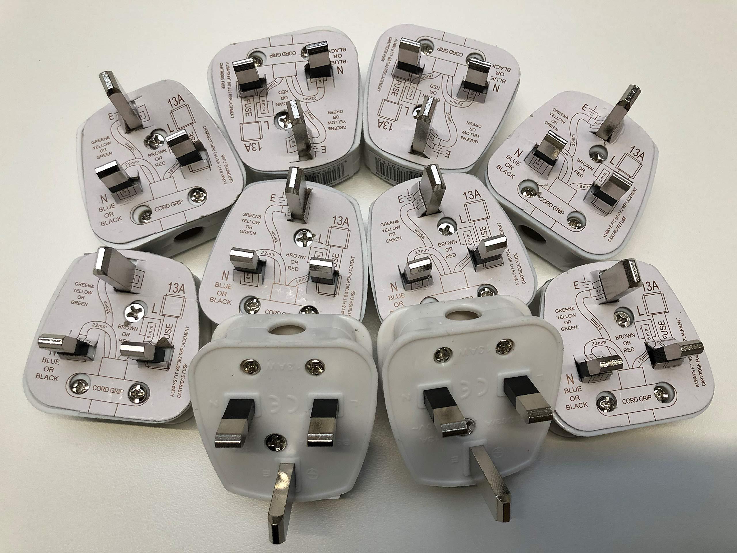 13 AMP Pack of 10 Nartel® BS1362 Fuse Cartridge 13 amp