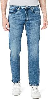 Levi's Erkek Skinny Kot Pantolon 502 TAPER BLUE COMET, Mavi, W56 (Üretici Ölçüsü 32)