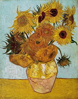 Oil Paintings Canvas Vincent Van Gogh Art Poster (Sunflowers, 1888) for Living Room Home Decoration - 16