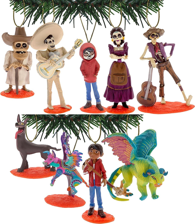 Disney Pixar's Coco Holiday Ornament Set of 9