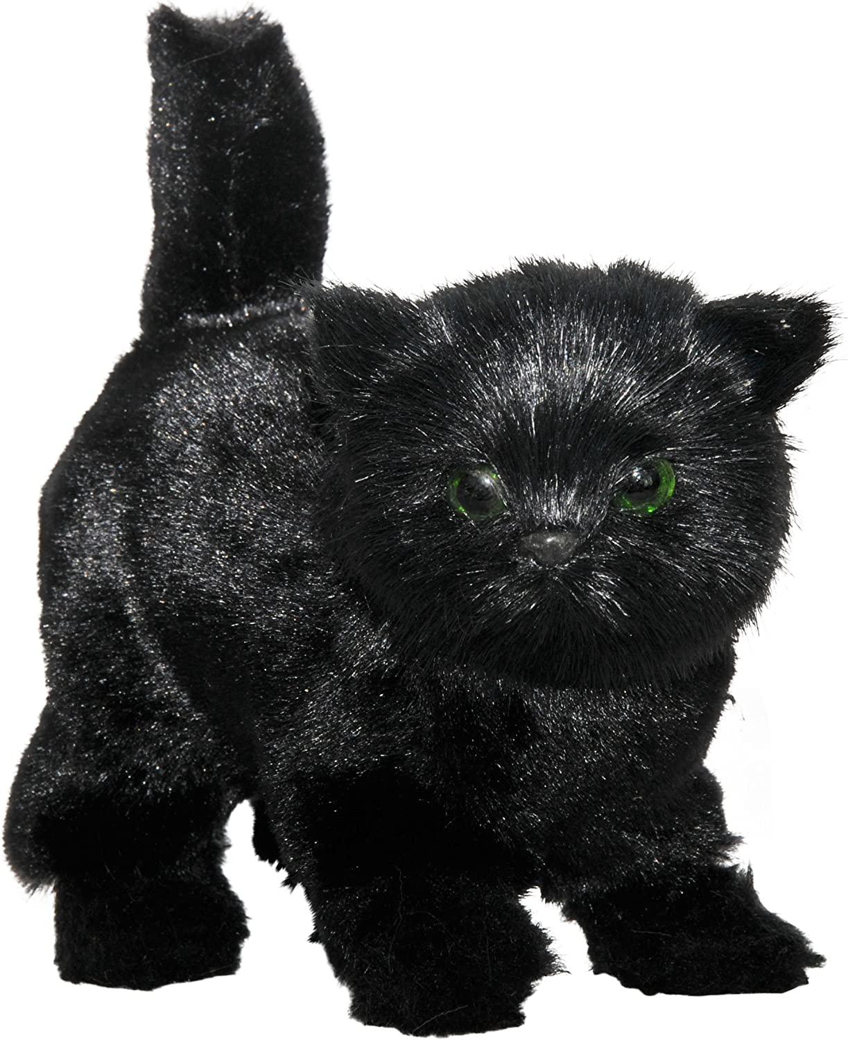 AWSOM Pets  Black Kitty Sized for Your 18 inch Doll. The Queen's Treasures Black Cat is the Perfect Furry Companion Doll Toy. Friend for your American Girl Doll and other 18 inch dolls  by The Queen's Treasures