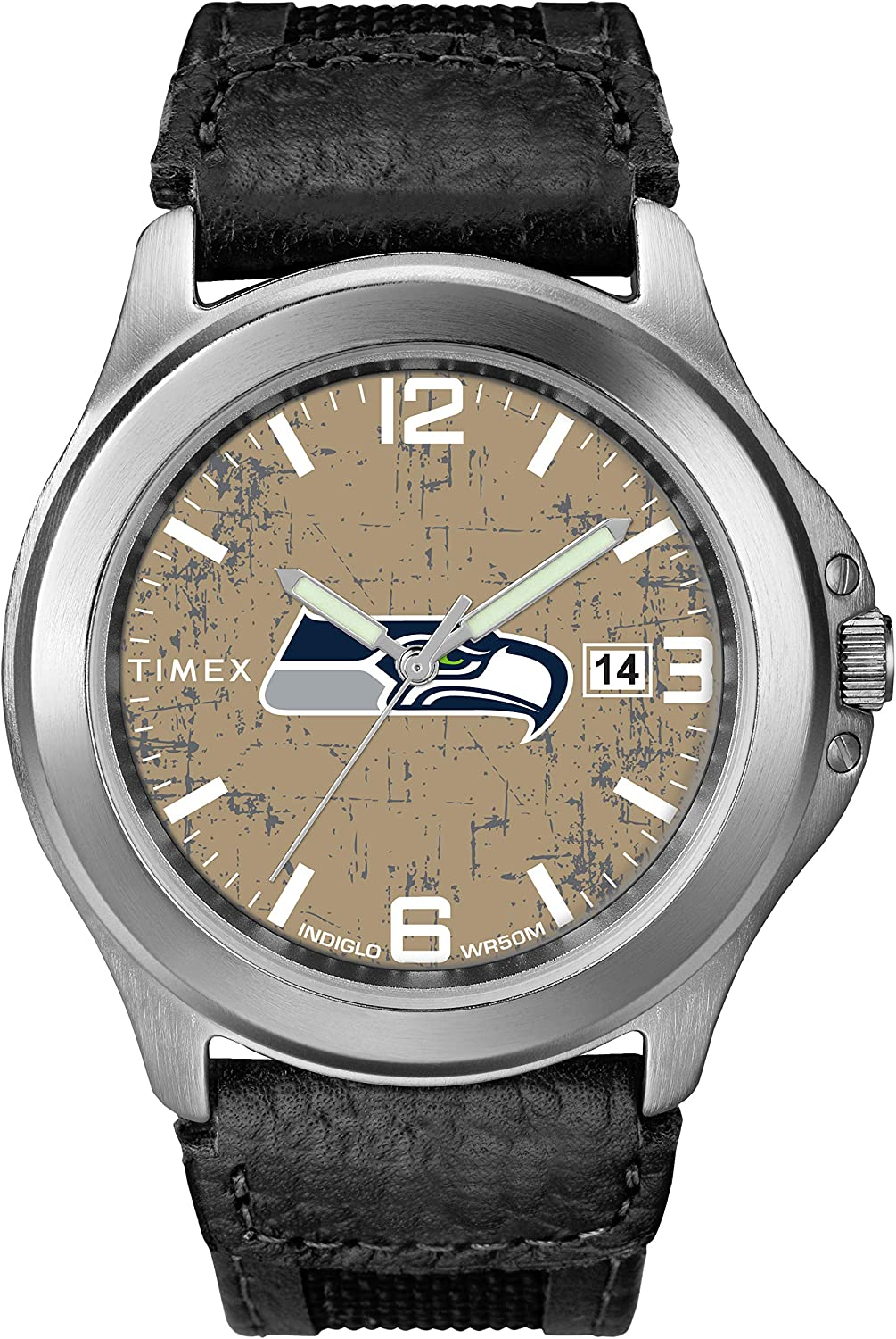 Timex NFL Men's 40mm School Watch Cheap mail Jacksonville Mall order shopping Old