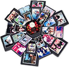 CreatiF Explosion Gift Box   Love Memory DIY Photo Album   Surprise Box   Creative Scrapbook Album   Anniversary-Birthday-Wedding-Engagement   …
