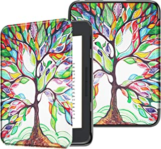Fintie Case for All-New Nook Glowlight Plus 7.8 Inch 2019 Release, Ultra Lightweight Slim Shell Cover for Barnes & Noble Glowlight Plus 7.8 eReader (Not Fit Previous Gen 6 Inch 2015), Love Tree