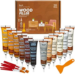 Katzco Furniture Repair Wood Fillers – Set of 25 – Resin Repair Compounds and..