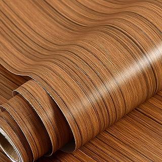 Wolpin Wall Stickers Furniture Wallpaper Wood Door, DIY Vinyl, Almirah, Shelf Liner, Revamp Desk Table Top, Wardrobe, Kitc...