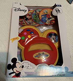 ACA Disney Mickey Mouse Sing with Me CD Player