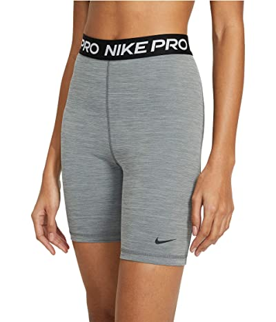 Nike Pro 7 Short High-Rise (Smoke Grey/Heather/Black/Black) Women