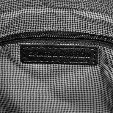 Spikes & Sparrow Bronco Bolso de Mano Negro