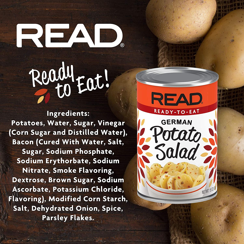 Read German Potato Salad Recipe