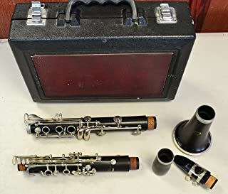 Yamaha YCL-34 Bb Intermediate Grenadilla Wood Open-Hole Clarinet