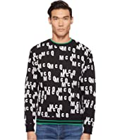 McQ - All Over Logo Sweatshirt