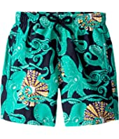 Vilebrequin Kids - Octopussy and Coquillages Swim Trunk (Toddler/Little Kids/Big Kids)