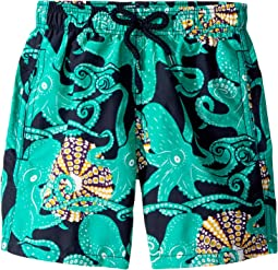 Octopussy and Coquillages Swim Trunk (Toddler/Little Kids/Big Kids)