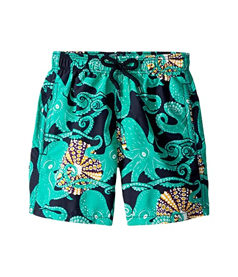 Vilebrequin Kids Octopussy and Coquillages Swim Trunk (Toddler/Little Kids/Big Kids)
