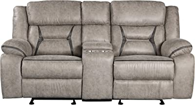 Roundhill Furniture Elkton Love Seats, Polyester