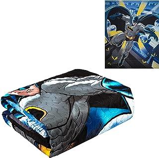 JPI Quilted Bedspreads All-Season Reversible Blanket - Batman in City - Twin Bed 86