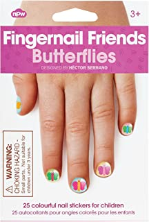 NPW Fingernail Friends - Butterflies, 0.005 Kilograms
