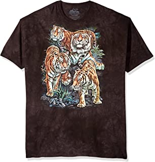 The Mountain Men's Bengal Tiger Collage T-Shirt