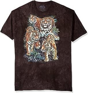 Men's Bengal Tiger Collage T-Shirt