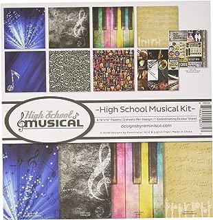 Reminisce (REMBC) HSM-200 High School Musical Scrapbook Collection Kit, Multi Color Palette