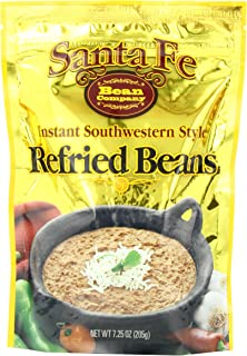 Santa Fe Bean Company Instant Southwestern Style Refried Beans 7.25-Ounce (Pack of 8)..